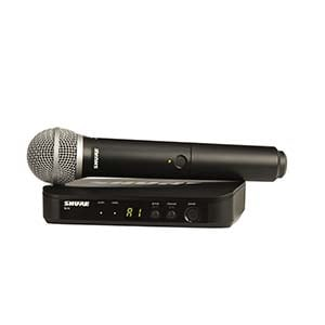 Shure BLX 24PG58 Handheld Wireless Mic System with PG58 Band H9
