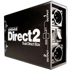 Whirlwind DIRECT2 Dual Direct Box