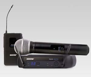 Shure PGX Digital Wireless System