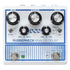 DOD Rubberneck Analog Delay Pedal