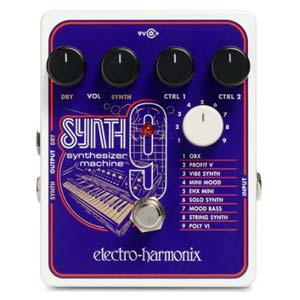Electro Harmonix SYNTH9 Synthesizer Machine Pedal