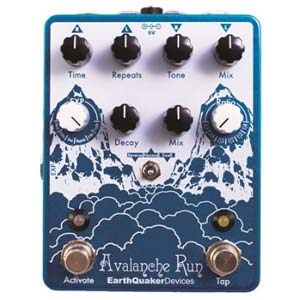 EarthQuaker Devices Avalanche Run Stereo Delay and Reverb Pedal