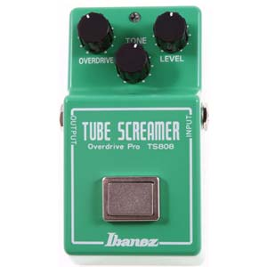 Ibanez TS808 Tube Screamer Overdrive Guitar Pedal