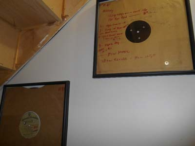 Les Paul used these records as backing tracks to play along with for live shows.