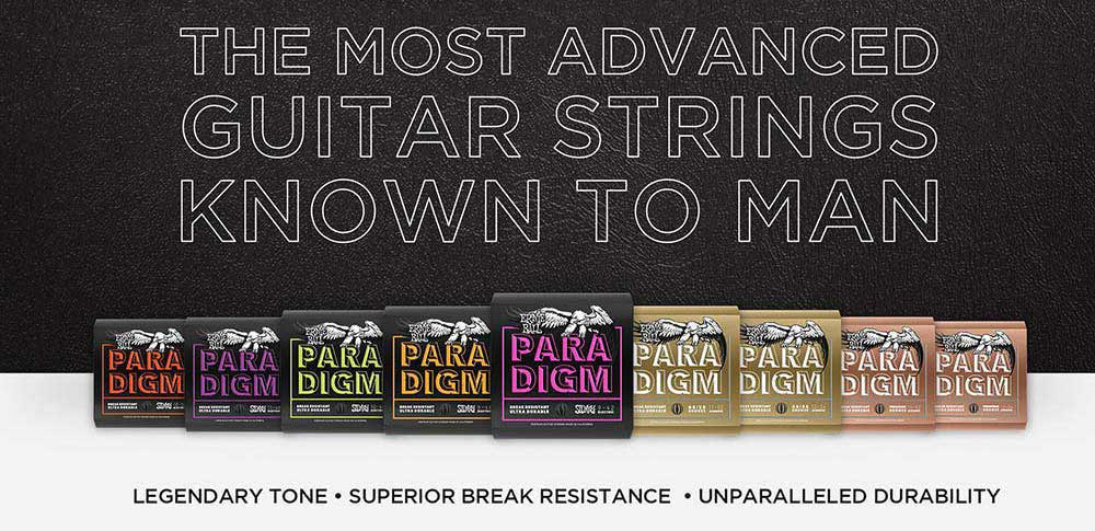 Ernie Ball Paradigm – The most advanced guitar strings known to man!