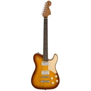 Fender LE Parallel Universe Troublemaker Tele Ice Tea Burst with Case