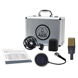 AKG C414XLII Reference Multi Pattern Large Diaphragm Condenser Mic