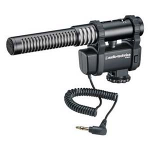Audio-Technica AT8024 Mono/Stereo Camera Mount Shotgun Microphone