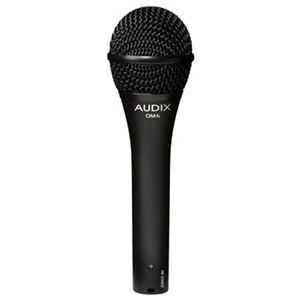 Audix OM6 Dynamic Hypercardioid Handheld Vocal Microphone