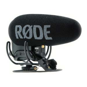 Rode Videomic Pro R Plus On Camera Shotgun Condenser Microphone