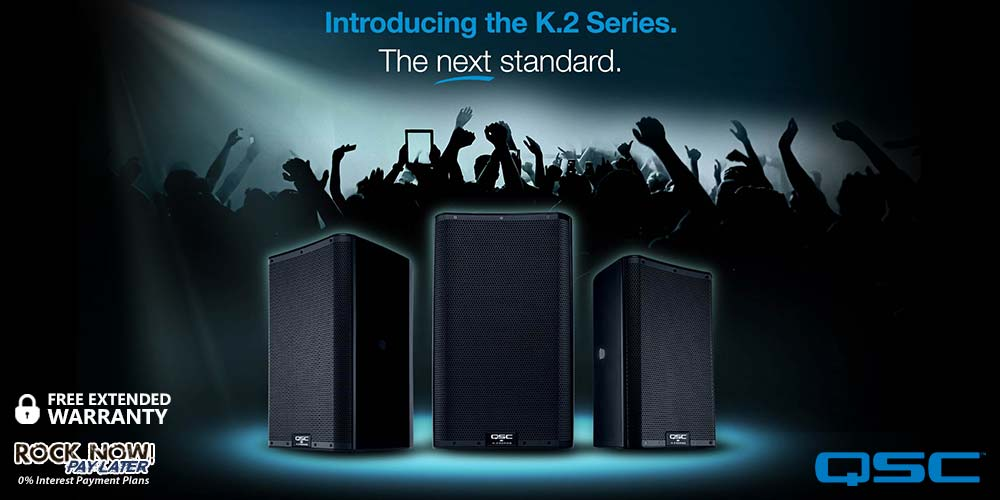 Introducing the QSC K.2 Series – The next standard!