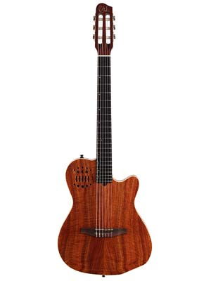 Godin ACSSA KOA Classical Acoustic Electric Guitar with Bag Koa