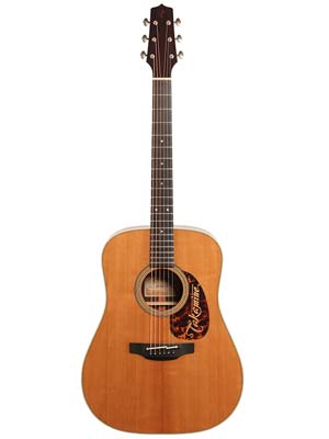 Takamine EF360STT Thermal Top Dreadnought Acoustic Guitar Natural