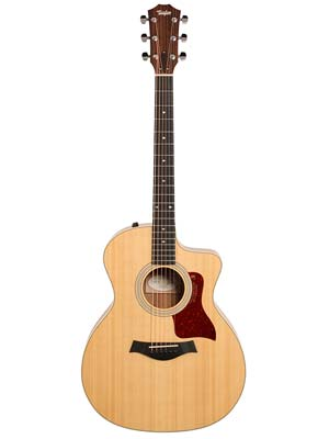 Taylor 214ce K DLX Grand Auditorium Acoustic Electric Guitar wCase