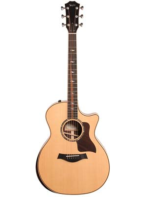 Taylor 814ce DLX Grand Auditorium Cutaway Acoustic Electric Guitar