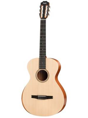 Taylor A12eN Grand Concert Nylon Acoustic Electric Guitar with Gigbag