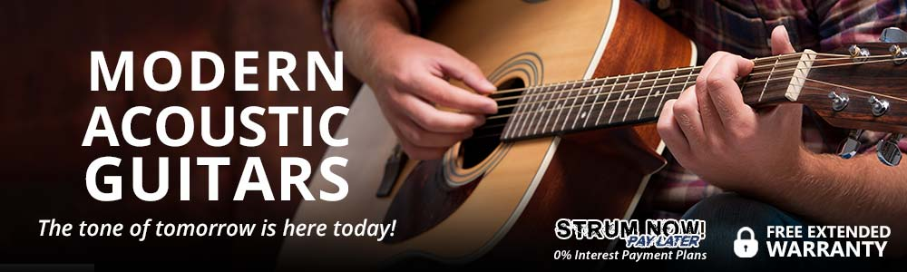 Modern Acoustic Guitars - The tone of tomorrow is here today!