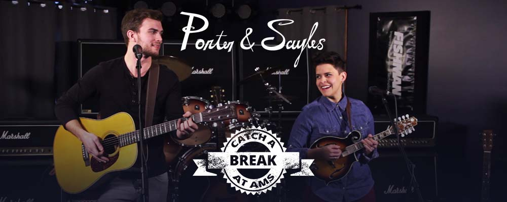 Porter & Sayles play on our stage!