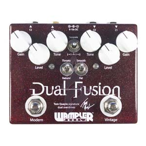 Wampler Dual Fusion V2 Overdrive Pedal