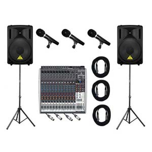 AMS Behringer Legacy Portable PA System Standard
