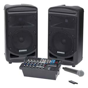 Samson Expedition XP800 800 Watt Portable PA System with Wireless Mic