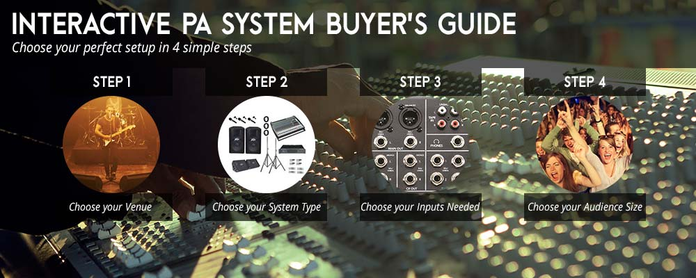PA System Buyer's Guide
