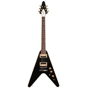 Gibson Flying V 2016 T Electric Guitar with Gig Bag Ebony