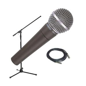 Shure SM58 Dynamic Vocal Microphone Package