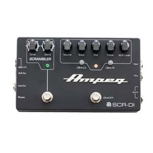 Ampeg SCR-DI Bass DI Box with Scrambler Overdrive