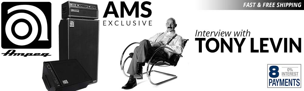 Exclusive Interview with Tony Levin