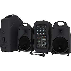 Behringer Europort PPA2000BT Portable PA System with Bluetooth
