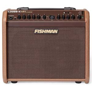 Fishman Loudbox Mini Charge Battery Powered Acoustic Guitar Amplifier