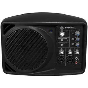 Mackie SRM150 150 Watt 3 Channel Compact Active PA System