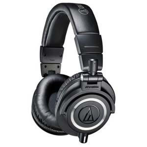 Audio-Technica ATHM50x Professional Monitor Headphones Black