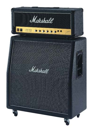 "The Perfect Pair – a UK built 2203X JCM800 reissue head with a 1960AX 4x12"" cab"