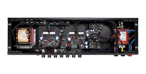 """None-more-black"" – the glorious guts of the 2555X reissue."