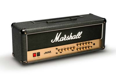 The slightly simpler but equally impressive, 2-channel, 6-mode, all-valve JVM head… available in 100W or 50W versions