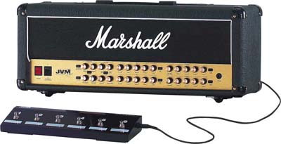 The incredibly versatile JVM410H, 4-channel, 12-mode, all-valve 100-Watt, UK made head