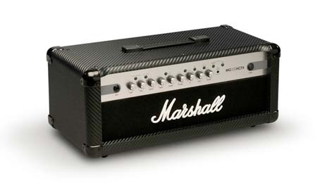 Analog tone with digital FX and a digital brain….the affordable, 4 channel MG100HCFX 100-Watt head.