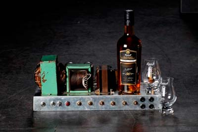 """Number 1 Amp"" & 50 year-old Scotch…a priceless pairing!"