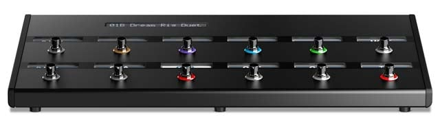 Helix Control - Floor-Based Controller for Helix Rack Guitar Processor