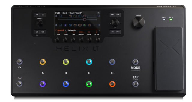 Helix LT - The power of Helix in a new streamlined HX Guitar Processor.