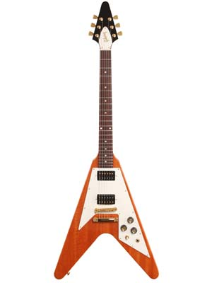 Gibson Limited Edition Flying V Reissue Natural Mahogany with Case