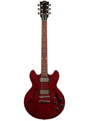 Gibson 2016 ES339 Studio Wine Red with Case