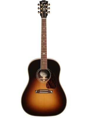 Gibson 2016 J45 Custom A/E Rosewood Guitar Vintage Sunburst with Case