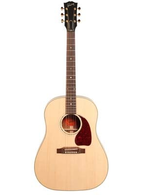 Gibson LE J45 Figured Mahogany Special Acoustic Electric with Case