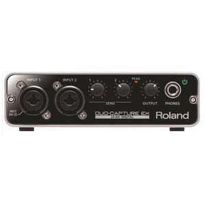 Roland DuoCapture EX USB Audio Interface