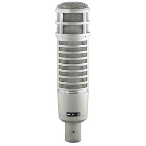 Electro-Voice RE20 Dynamic Broadcast Announcer Microphone