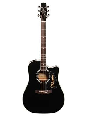 Takamine EF341SC Acoustic Electric Guitar with Case