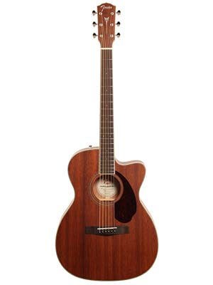 Fender Paramount PM3 Triple 0 All Mahogany Acoustic with Case